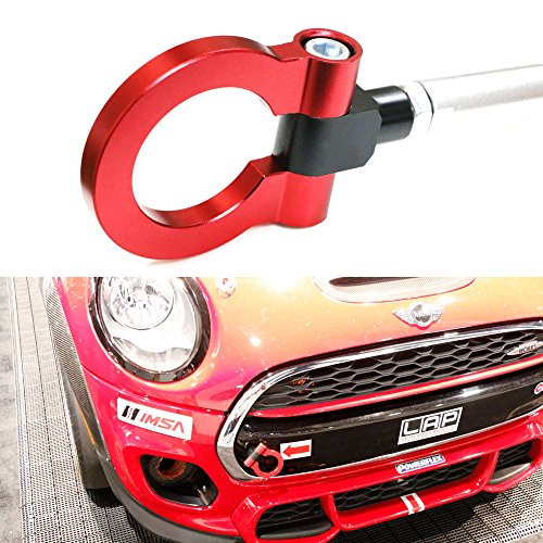 iJDMTOY (1) Sport Red Track Racing Style Aluminum Tow Hook ...