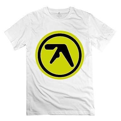 maikeer Men's Aphex Twin Logo T-shirt: Amazon co uk: Clothing