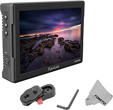 Fomito Aputure VS-5 7 Inch Monitor SDI HDMI 1920 * 1200 pantalla ...