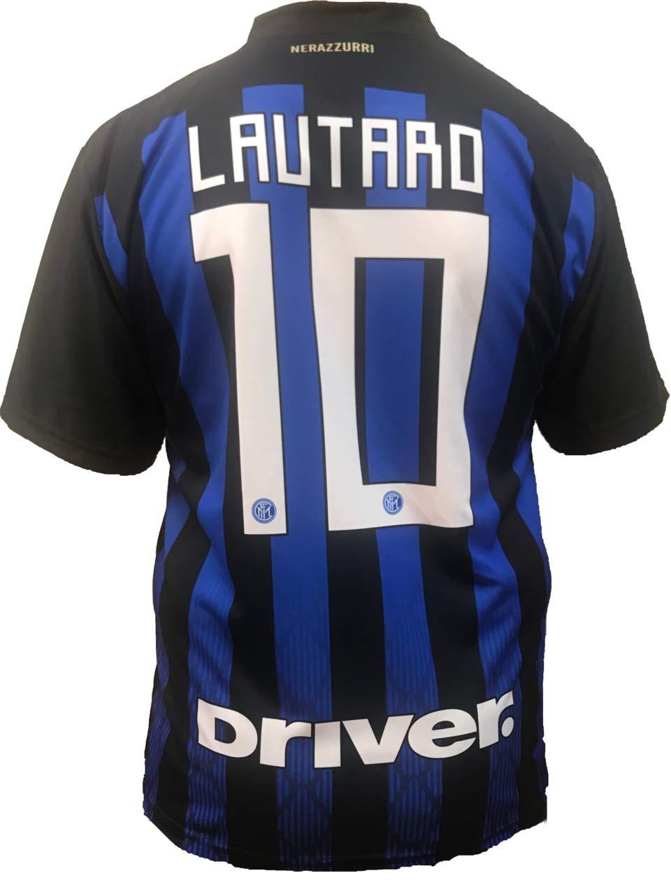Camiseta Jersey Futbol Inter F.C Lautaro Martinez Replica ...