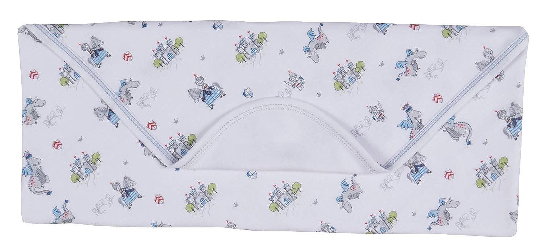 Kissy Kissy Baby-Boys Infant King of The Castle Print Receiving Blanket