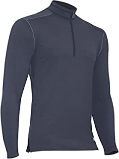 product image for Polarmax Men's 2015 Core 4.0 Tech Fleece Mock Zip (Anthrracite, Small)
