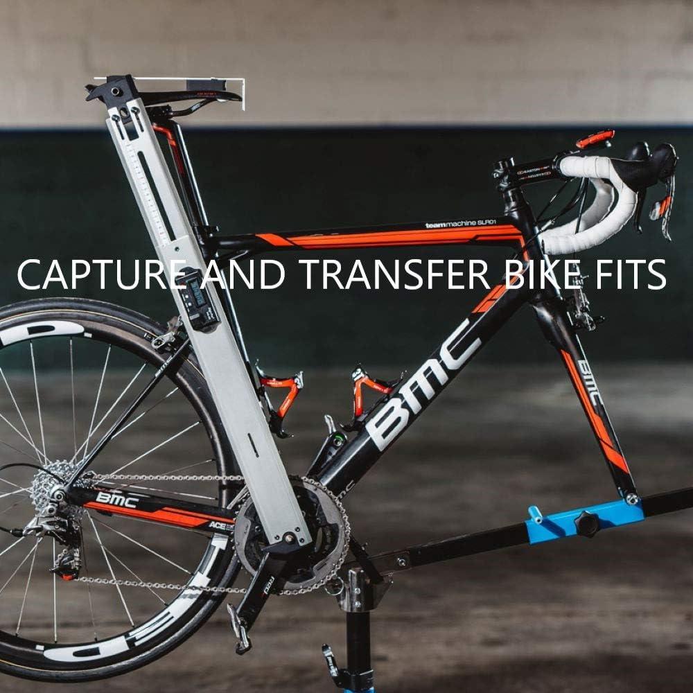 VeloAngle herramienta de ajuste para bicicleta captura y transfiere la posición del sillín, manillar, pedalier inferior y más: Amazon.es: Deportes y aire libre