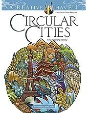 Creative Haven Circular Cities Coloring Book