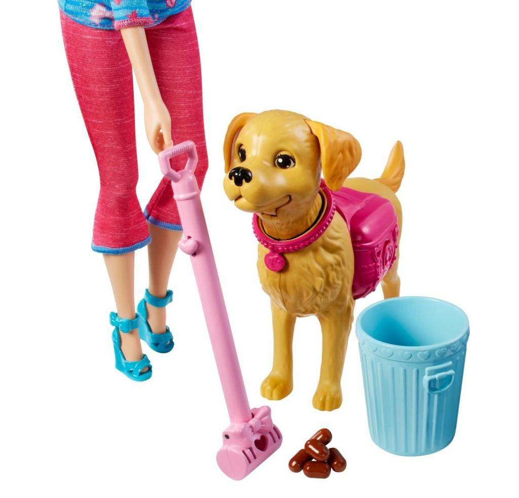 Toys For Potty Training : Amazon barbie potty training taffy doll and pet toys