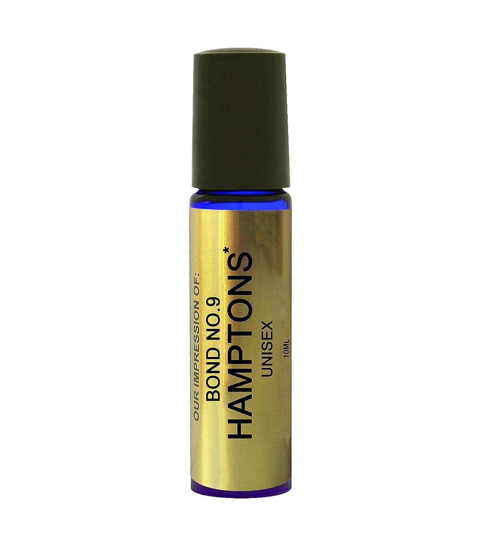 Premium Perfume Oil IMPRESSION with SIMILAR Accords to: -{*Bond 9_Hamptons*}{UNISEX}_; Long Lasting 100% Pure No Alcohol Oil - Perfume Oil VERSION/TYPE; Not Original Brand (10ML ROLLER BALL) Perfume Studio