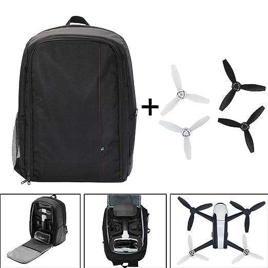 1 mochila portátil + 4 hélices para drones Parrot Bebop 2 Power ...
