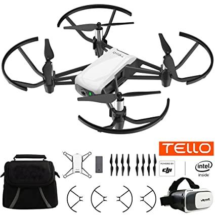 Amazon Tello Quadcopter Drone With HD Camera And VR Powered By