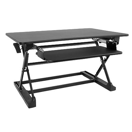 Wondrous Work Up Xafd M1A 36 Desktop Adjustable Sit To Stand Desk Interior Design Ideas Clesiryabchikinfo