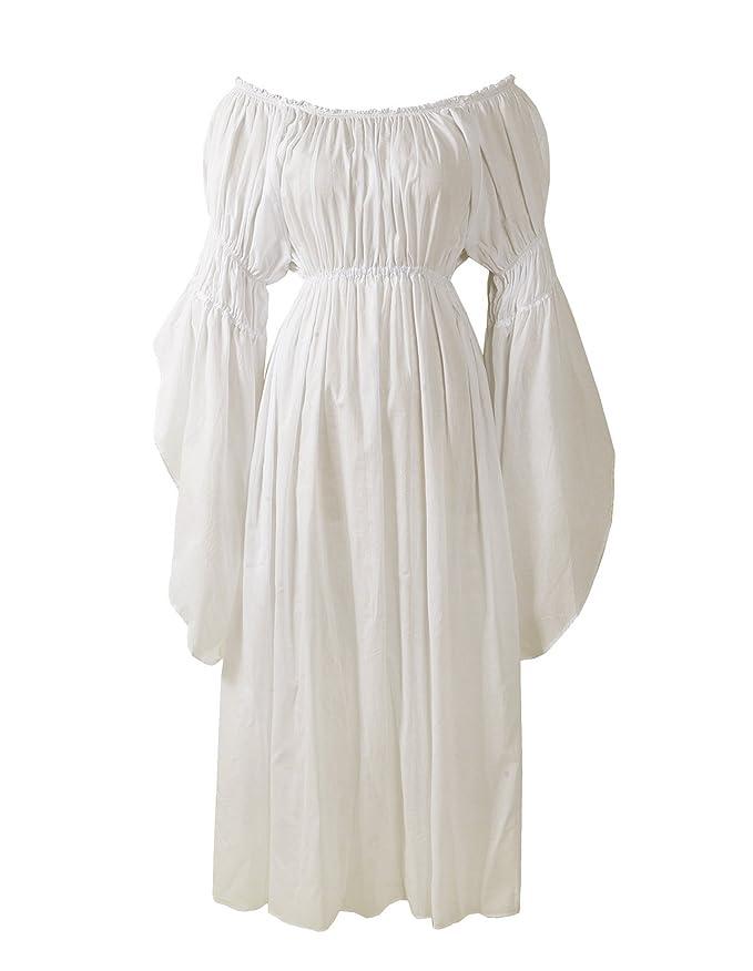 Reminisce Boutique Renaissance Medieval Costume Pirate Faire Celtic Chemise Under Dress by Reminisce Boutique