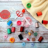 100 Pieces Mini Sewing Thread Kit Sewing