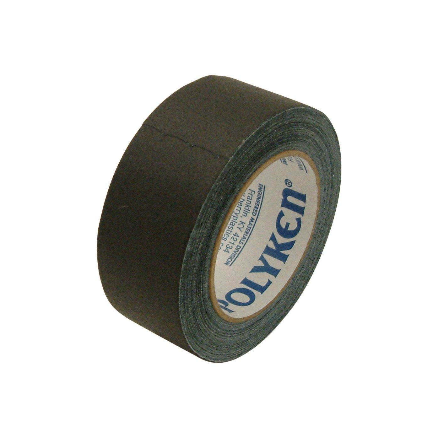 Polyken 510/BLK225 510 Premium Grade Gaffers Tape: 2'' x 75 ft.