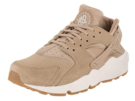 Scarpe donna NIKE Wmns Air Huarache Run SD in camoscio beige AA0524200