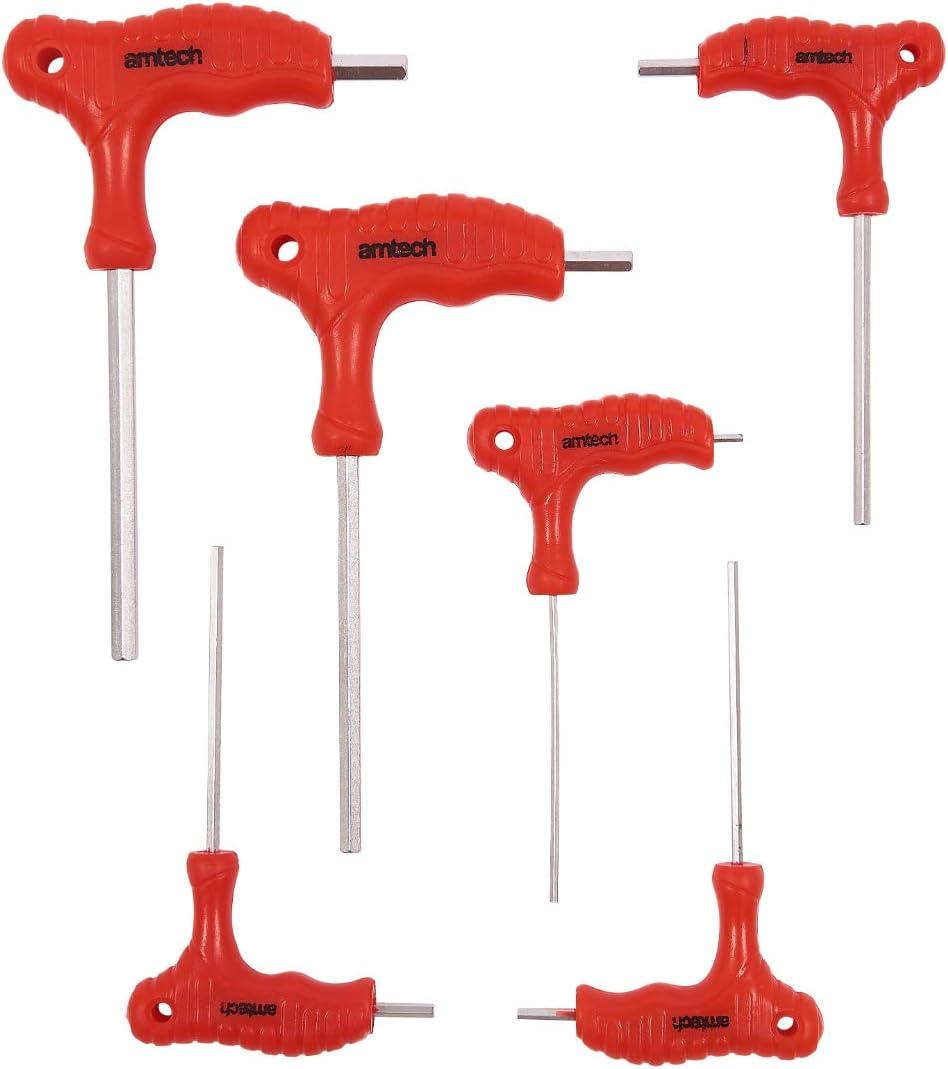Am Tech 6 Stück T Handle Hex Key Set L0755 Baumarkt