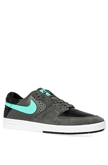 1dc0491803596 NIKE Paul Rodriguez 7 Skate Shoes Leather Man Black Size: 7.5 ...