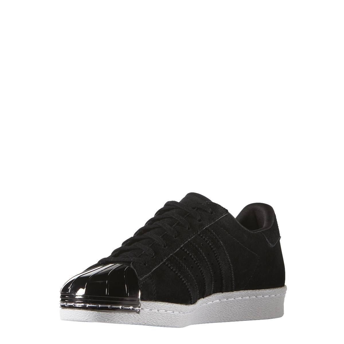 magasin d'usine 85227 4a3cd adidas Women's Women's Baskets Superstar 80s Metal Toe Noir ...