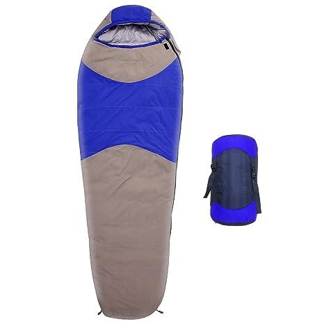 3 temporada momia saco de dormir de plumón de pato 220 cm x 80 cm con