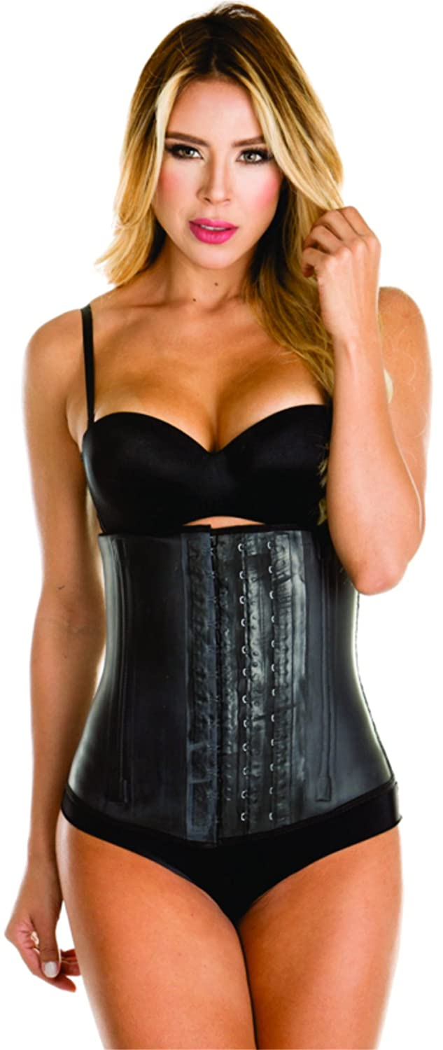 adf93cb3e Colombian Latex Waist Trainer Cincher for Women Black 3 hooks ...