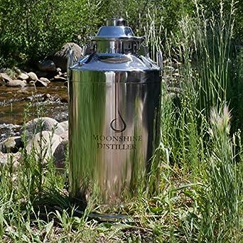Amazon.com: Moonshine destilador eléctrico 13 galones Leche ...