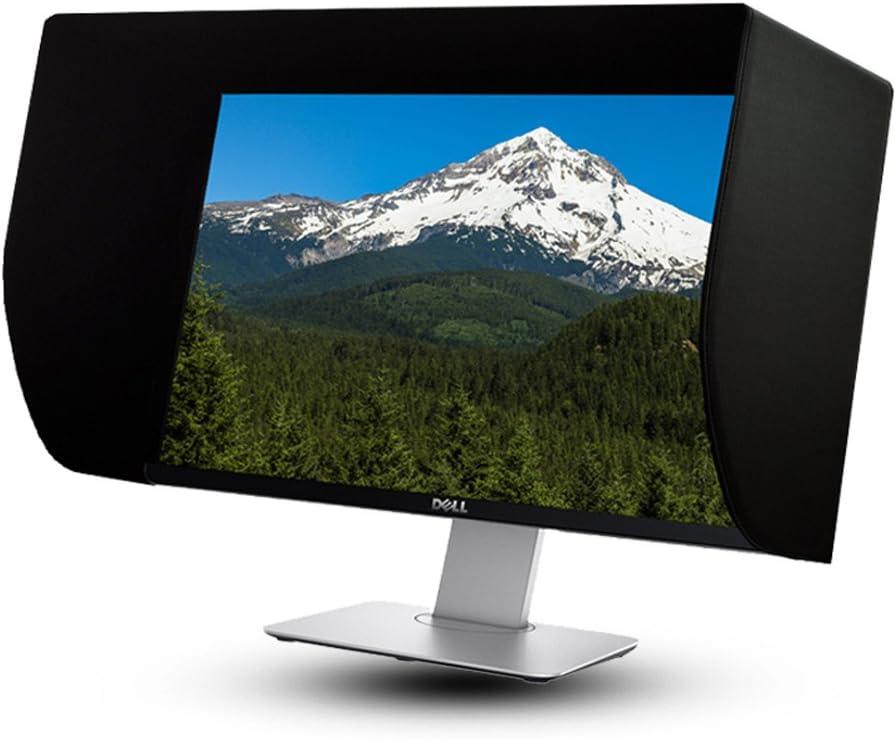 iLooker 22E 21~22 inch LCD LED Video Monitor Hood Sunshade Sunhood for Dell HP Viewsonic Philips Samsung LG EIZO NEC ASUS ACER BENQ AOC Lenovo, Fits Monitor Frame Width 505-525mm