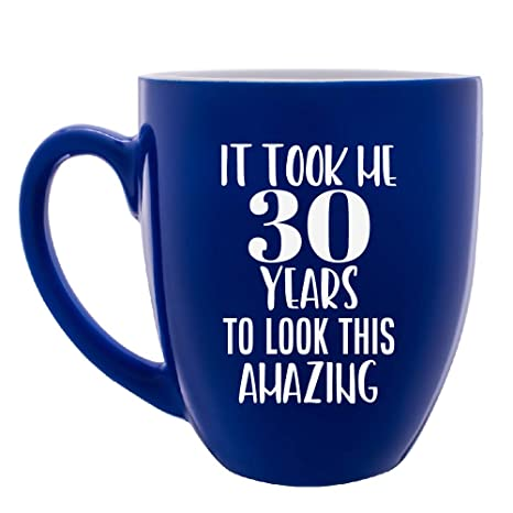 Large Personalized Coffee Mug 30 Year Old Birthday Gifts For Women