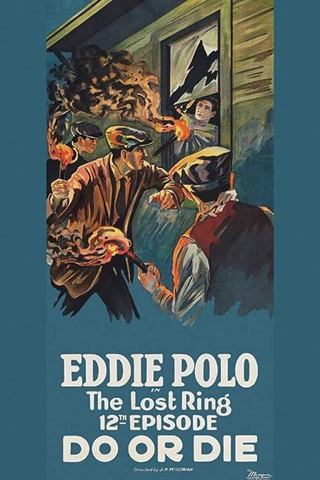 El anillo perdido - Do Or Die - Eddie polo, 12 x 18 lienzo Giclée ...