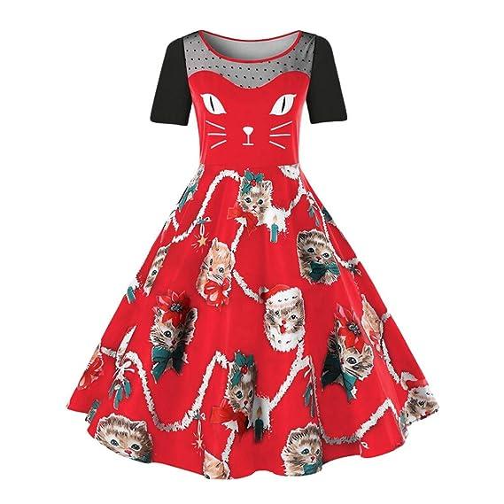 Vestidos Falda Mujer 2018 Primavera Verano Otoño Navidad