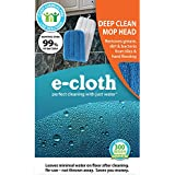 E-Cloth Deep Clean Mop Head - Official - Durable Premium Microfiber Damp Mop Head - Use With Just Water for Chemical-Free Floor Cleaning