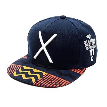 Malloom 2016 nuevo Hip-Pop letra X sombrero plano Baseball gorra hip . 5e5d6e1be3d