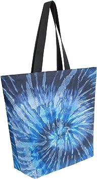 Reusable /& Eco-Friendly! Tie-Dye Graphic Tote Bars Essentials