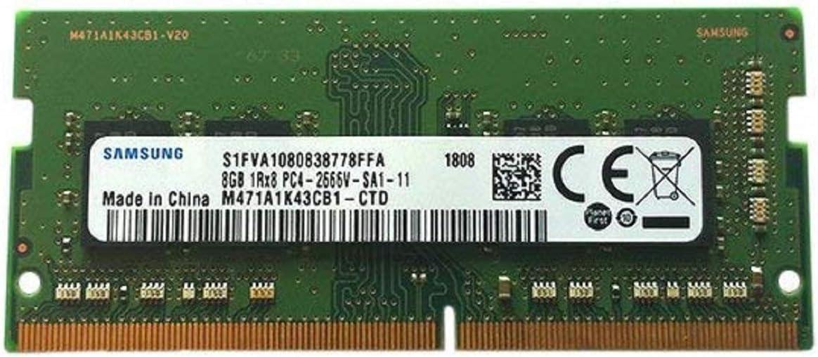 Samsung M471A1K43CB1-CTD 8GB DDR4 PC4-21300, 2666MHZ, 260 PIN SODIMM, 1.2V, CL 19 laptop ram memory module