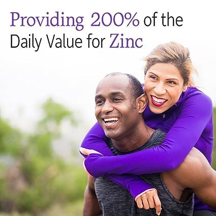 Jardín de vida - Zinc - Vitamina código Raw Zinc todo alimentos suplemento con Vitamina C, 60 Cápsulas: Amazon.es: Salud y cuidado personal
