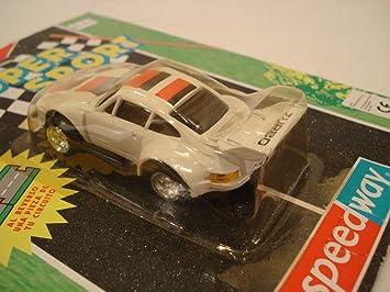 MC Toy (Macau) White w/ Red-Black Stripe Porsche 935 (Turbo