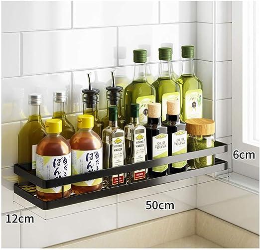 Küchenregal Gewürzregal Wandboard Edelstahl Wand Regal Ablage Ständer Küche Bad