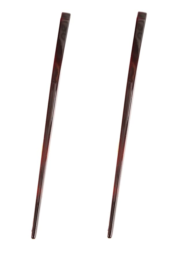 2 Pcs Retro Crane Shaped Alloy Hairpin Needle Headdress Jewelry Accessories