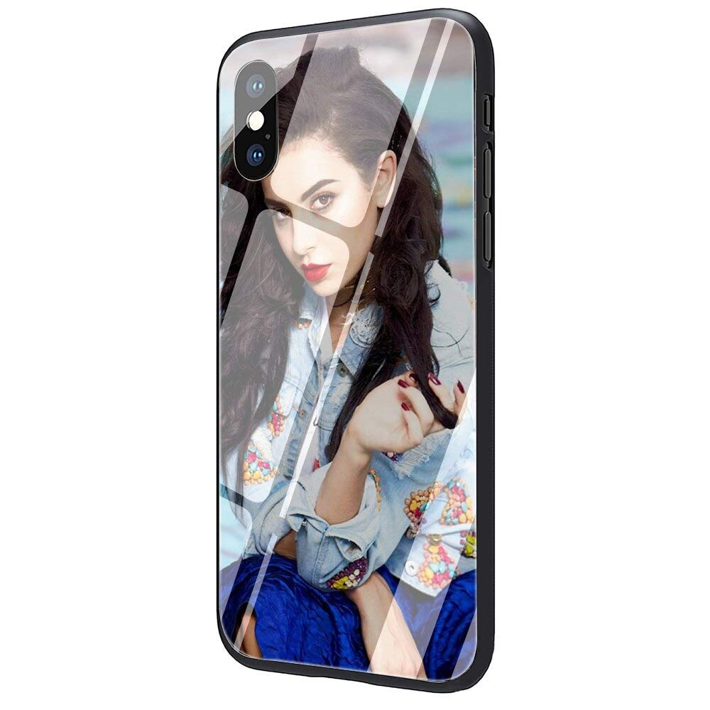 Tshirt Merch Best Mamager Icona Clean Inspired by charlie xcx Phone Case Compatible With Iphone 7 XR 6s Plus 6 X 8 9 Cases XS Max Clear Iphones Cases High Quality TPU 3305330505