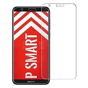 brand new 69c76 89f58 [2 Packs] Huawei P Smart Screen Protector, Huawei P Smart Tempered Glass  Screen Protector, Anti-Scratch HD Clear Screen Guard for 5.65'' Huawei P ...