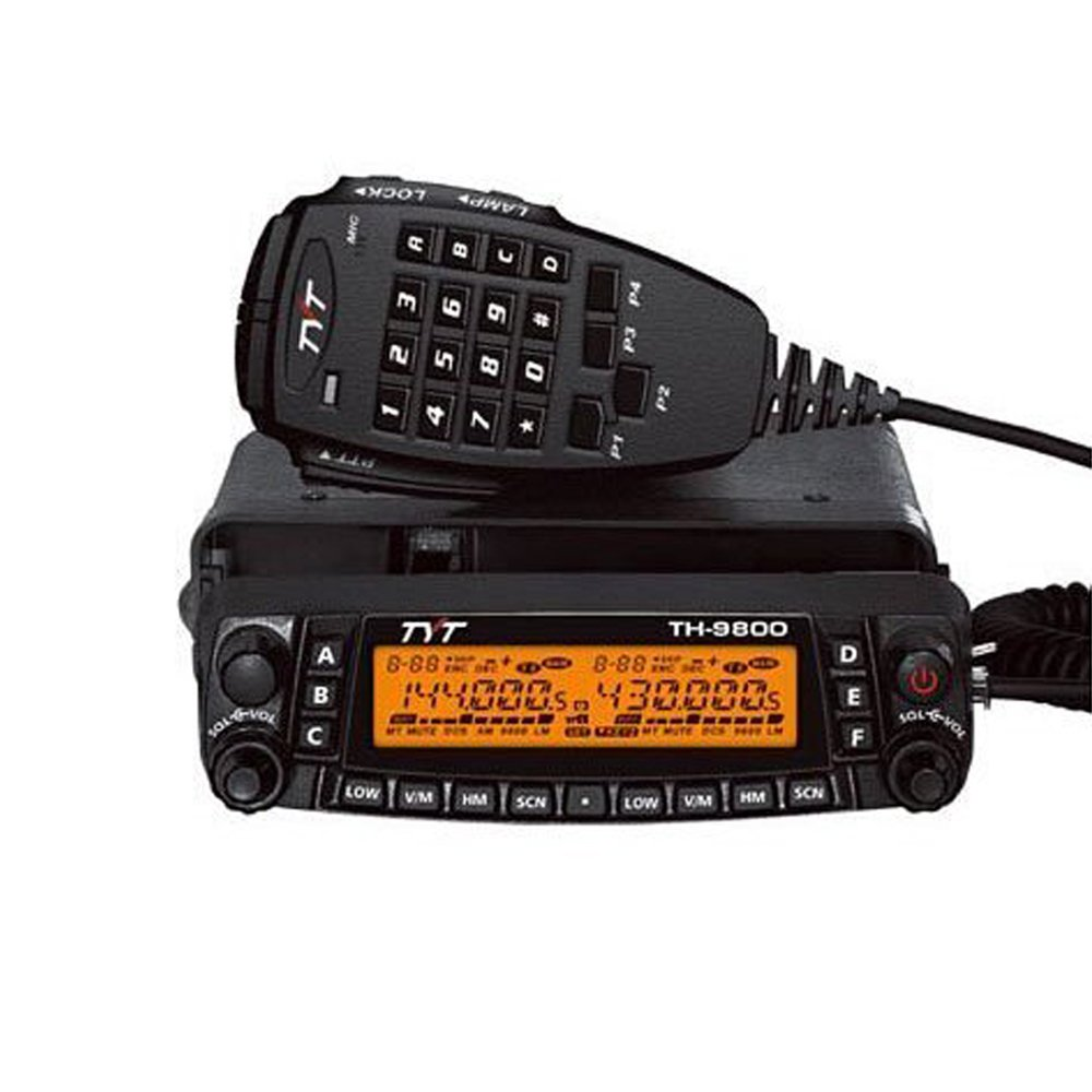 TYT TH-9800 Quad Band Transceiver Radio 50W Twin Receive Cross Band Repeat Radio HAM