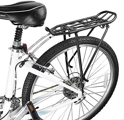 BV Parrillas de Bicicleta compatible con cuadros de 26