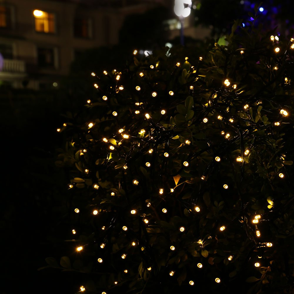 Led Party String Lights : Battery Power 200 LED Christmas String Lights 50ft Fairy Waterproof Party Light eBay