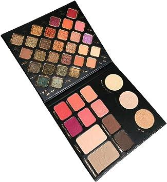Paleta de sombras de ojos, paleta de maquillaje para ojos, caja profesional, paleta de sombras Nude Beauty Make Up: Amazon.es: Bricolaje y herramientas