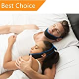 Anti Snoring Chin Strap best snoring remedies Aids Snoring Relief Devices Adjustable size for Snorerx Men and Women