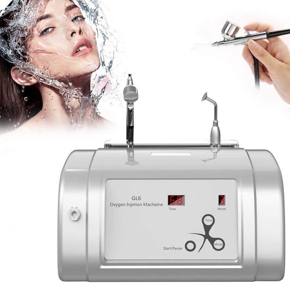Oxygen Injection Machine Oxygen Spray Water Injection Hydrate Jet Skin Rejuvenation Beauty Machine(White) by Brrnoo (Image #1)