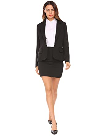 Burlady Women Business Suit Formal Casual Wear To Work Office Blazer Dress