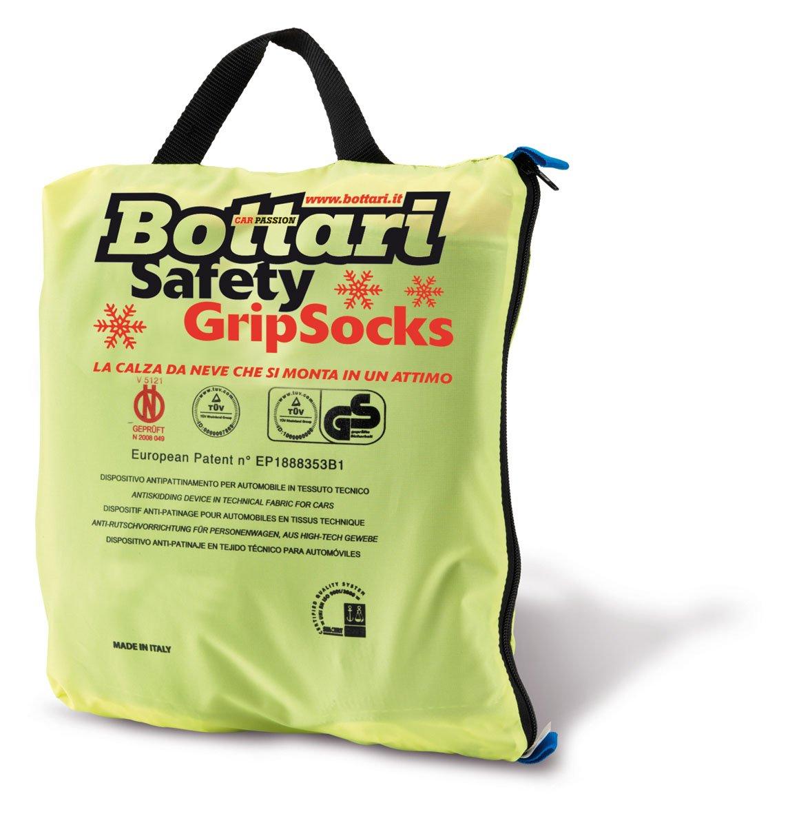 Bottari 68042 Cadenas textiles para nieve, Talla 71, Compatible con ABS y ESP, Certificado TUV y GS Onorm Bottari SpA G1A68042_806