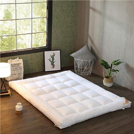 Amazon.com: Colchón de suelo japonés, grueso tatami, colchón ...