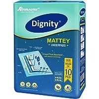 Dignity Mattey Underpads 10 Pcs, Size 60x90cm, (Pack of 1)