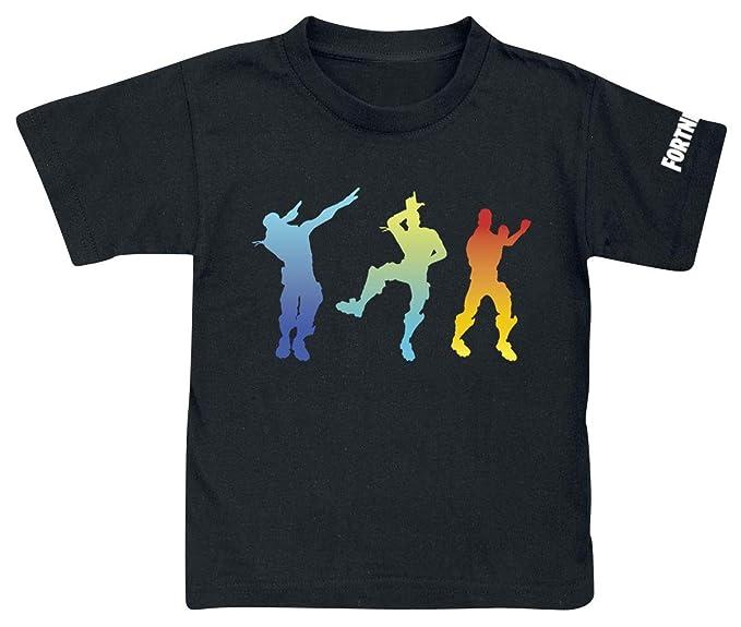 Camiseta Fortnite Dancing Black - Camiseta Fortnite Manga Corta (16 años)