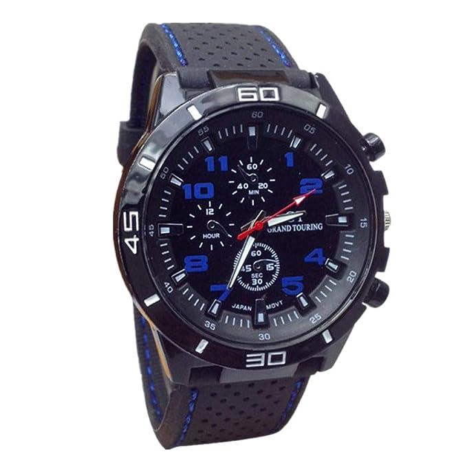 Amazon.com: Muranba 2019 Reloj de cuarzo para hombre, reloj ...