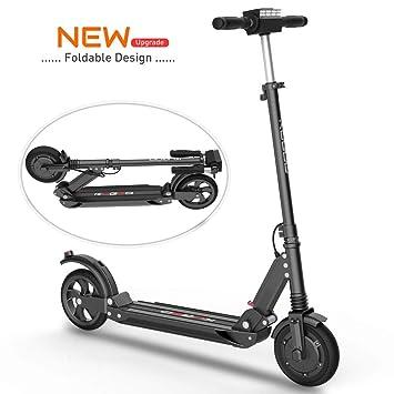 Scooter Eléctrico Adultos - Motor De Alta Potencia de 500(2*250)W, Velocidad Máx de 30km/h, Diseño Plegable y de Fácil Transporte, E Scooter Ultra ...